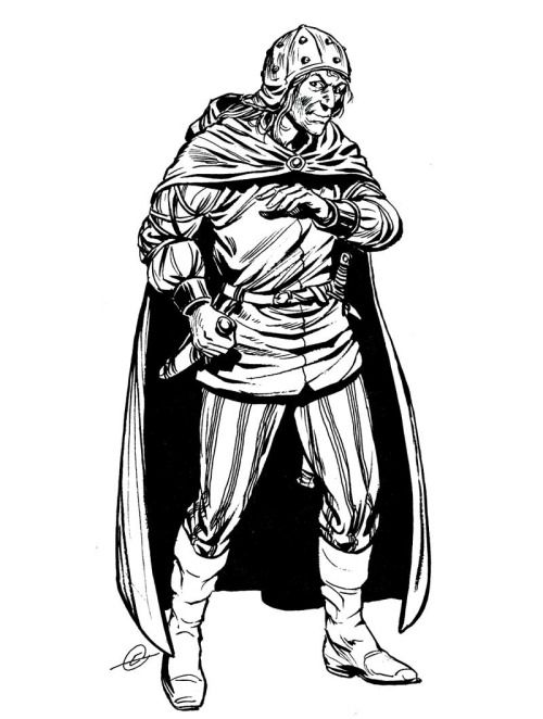 """Thief"" is so judgemental. ""Rogue"" is trying too hard. I prefer ""expert treasure hunter."" (Larry Elmore, D&D Expert Rulebook, TSR, 1983.)"