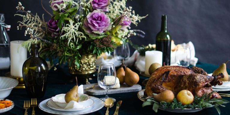 Give your show-stopping meal a show-stopping ambiance.