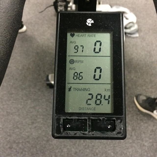 """""""My best to date  28.4km in 45 mins  my trainer was the ultimate BEAST today must be making up for not being there in Friday. Got me feeling sweet and walking like I just completed a 24 hour romp session  #purecycle #spinning #cycling #puregym #gymlife #fitnessjourney #strengthandconditioning #strengthandendurance #morgansnature"""" Photo taken by @natashajmorgan on Instagram, pinned via the InstaPin iOS App! http://www.instapinapp.com (11/23/2015)"""