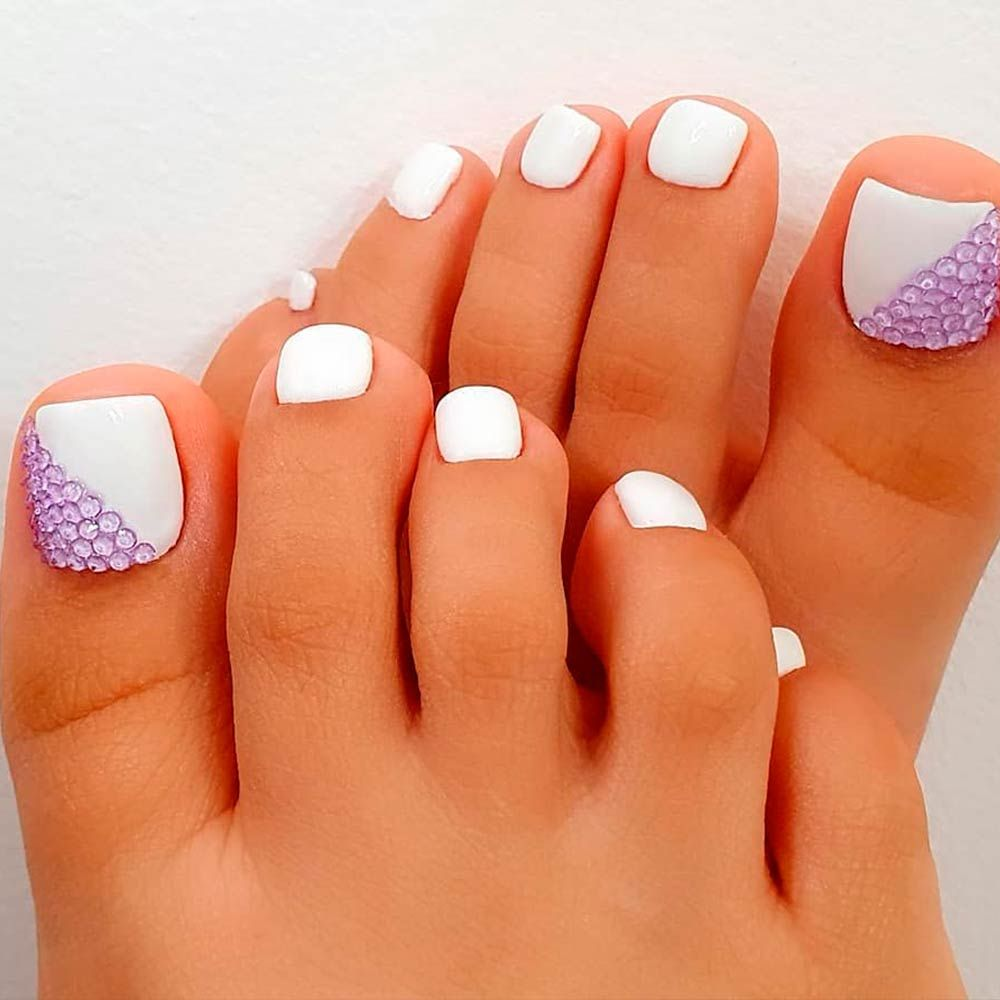 Nail Designs For Truly Fashionable Chicks Who Follow The Trends In 2020 Nails Design With Rhinestones Toe Nail Designs Toe Nails,Simple And Easy Corner Rangoli Designs For Diwali
