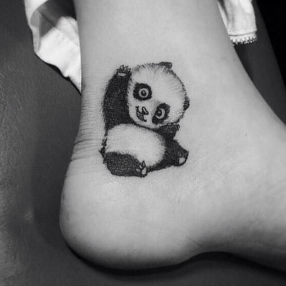 05caaafac 23 Awesome Panda Tattoos Lol I drew this for you Tatto Panda, Panda Bear  Tattoos. Read it