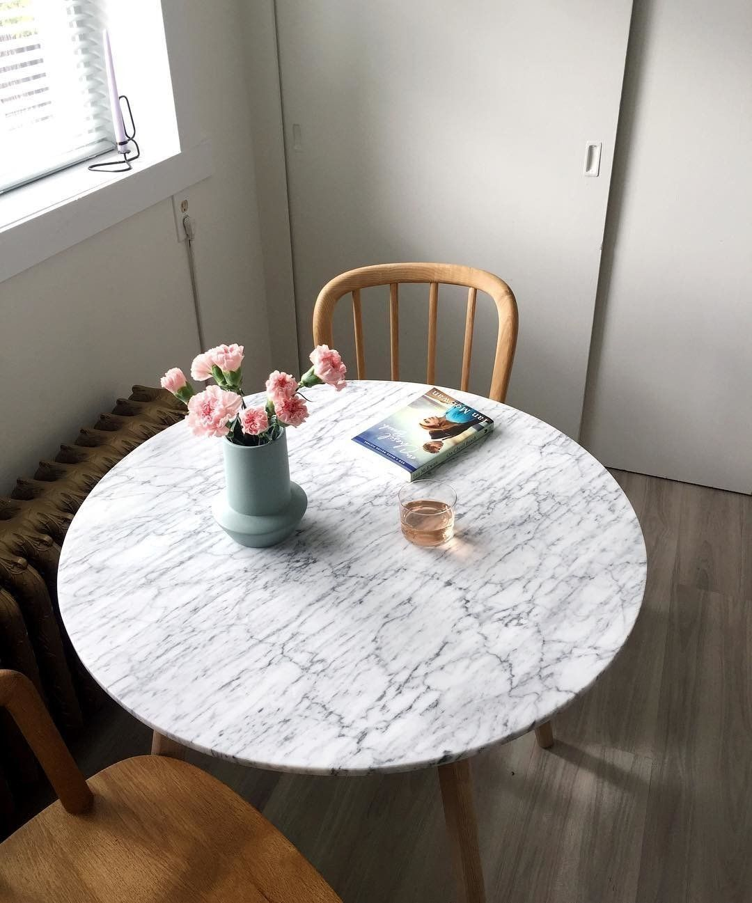 Mara Oak Cafe Table Cafe Tables Modern Dining Table Mid