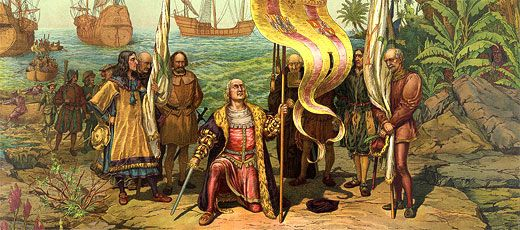Oct 12th Is Dia De La Raza Or National Day Of Spain Celebrated In Spain And Latin America Uniting All Spanish Christopher Columbus Happy Columbus Day History