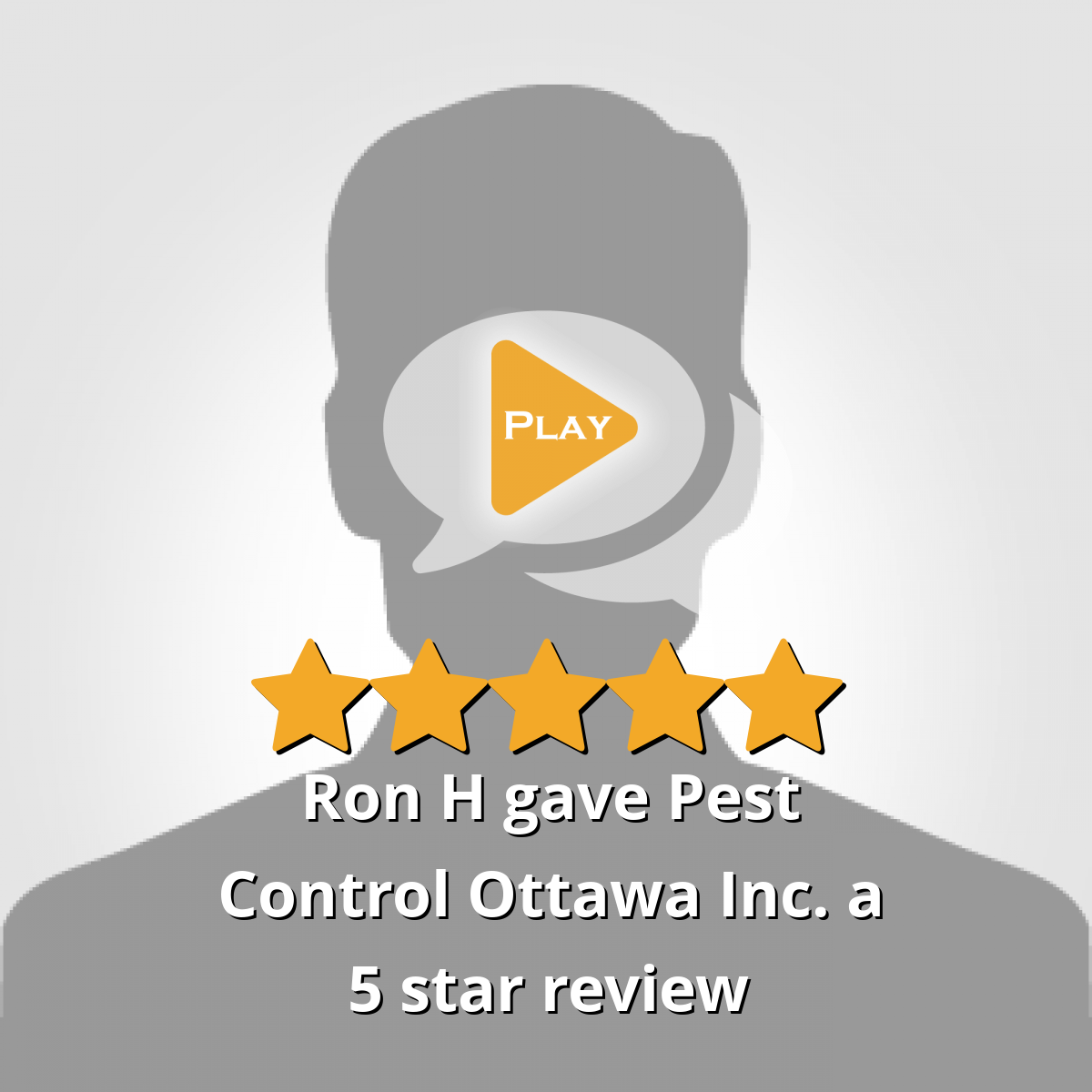 Ron H gave Pest Control Ottawa ON a 5 star review Pest