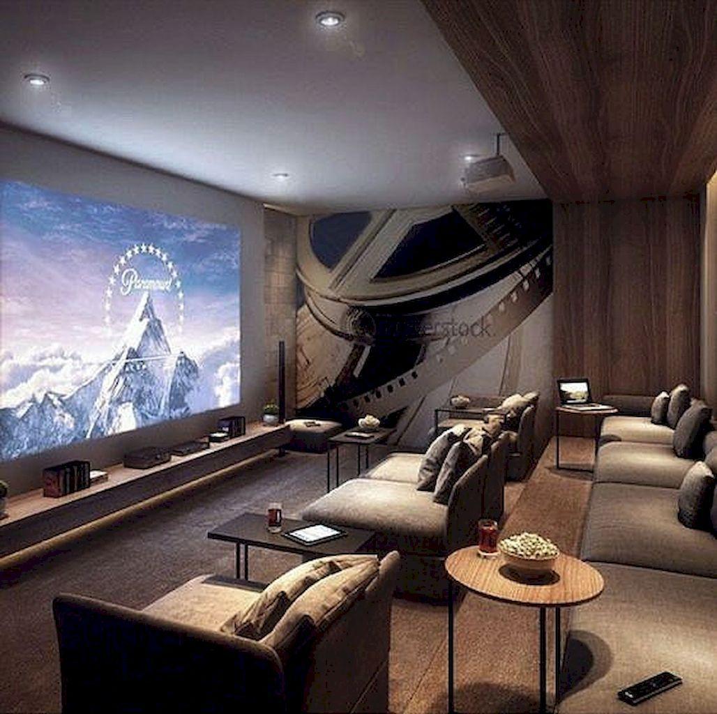 Cozy Home Theater: %%excerpt%% , #hometheater #housetheaterroom