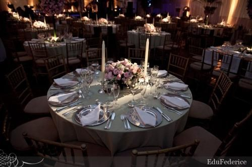 Decoracion para boda color plata decoraci n para bodas en rosa blanco y plata decoraci n de - Decoraciones en color plata ...