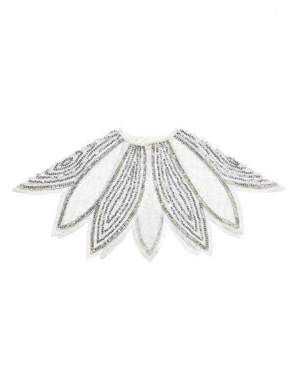 08163a6f6 Tutu du Monde Ethereal Cape in Silver