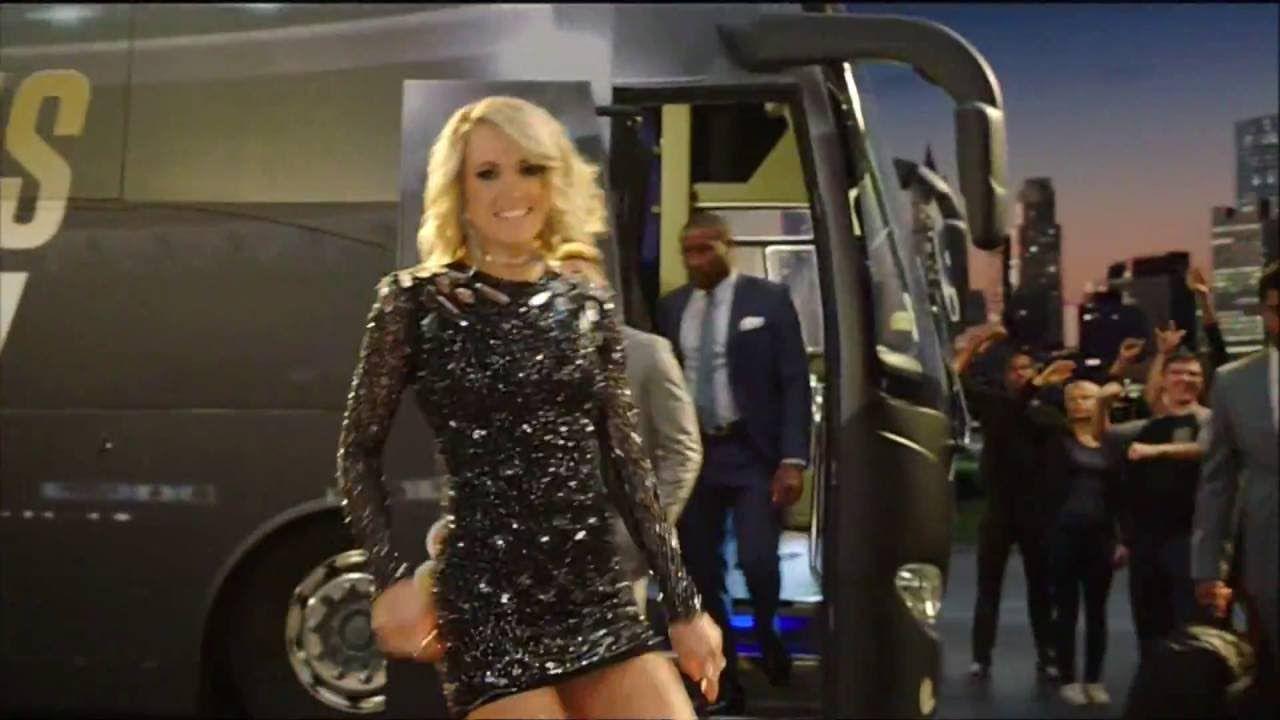 New Sunday Night Football Intro Featuring Carrie Underwood 9 11 16 Carrie Underwood Sunday Night Football Underwood
