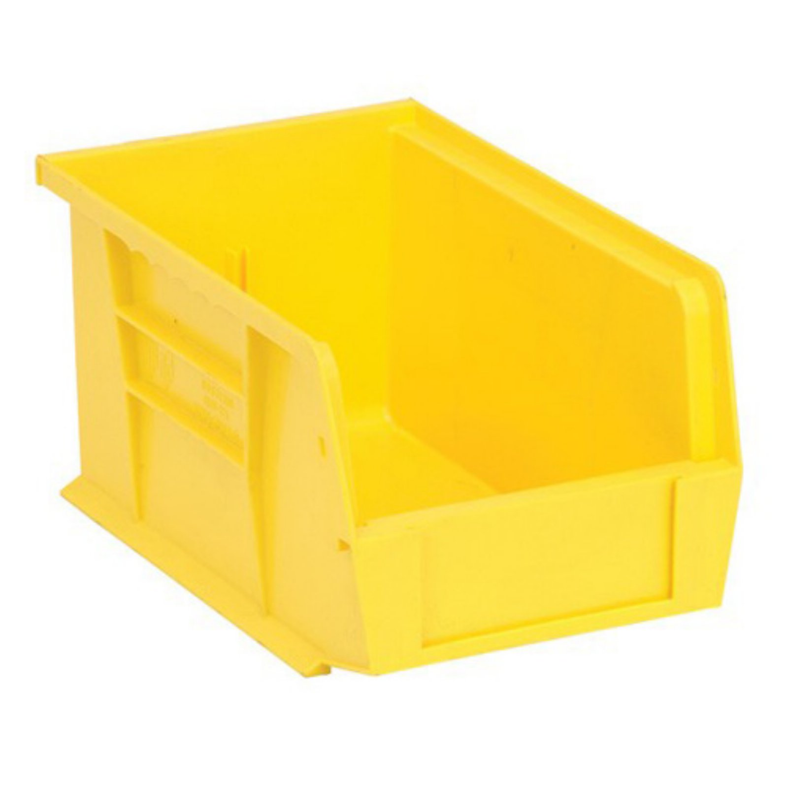 Quantum Storage 9l X 6w In Ultra Stack And Hang Bin Set Of 12 Stackable Plastic Storage Bins Storage Bins Stacking Bins