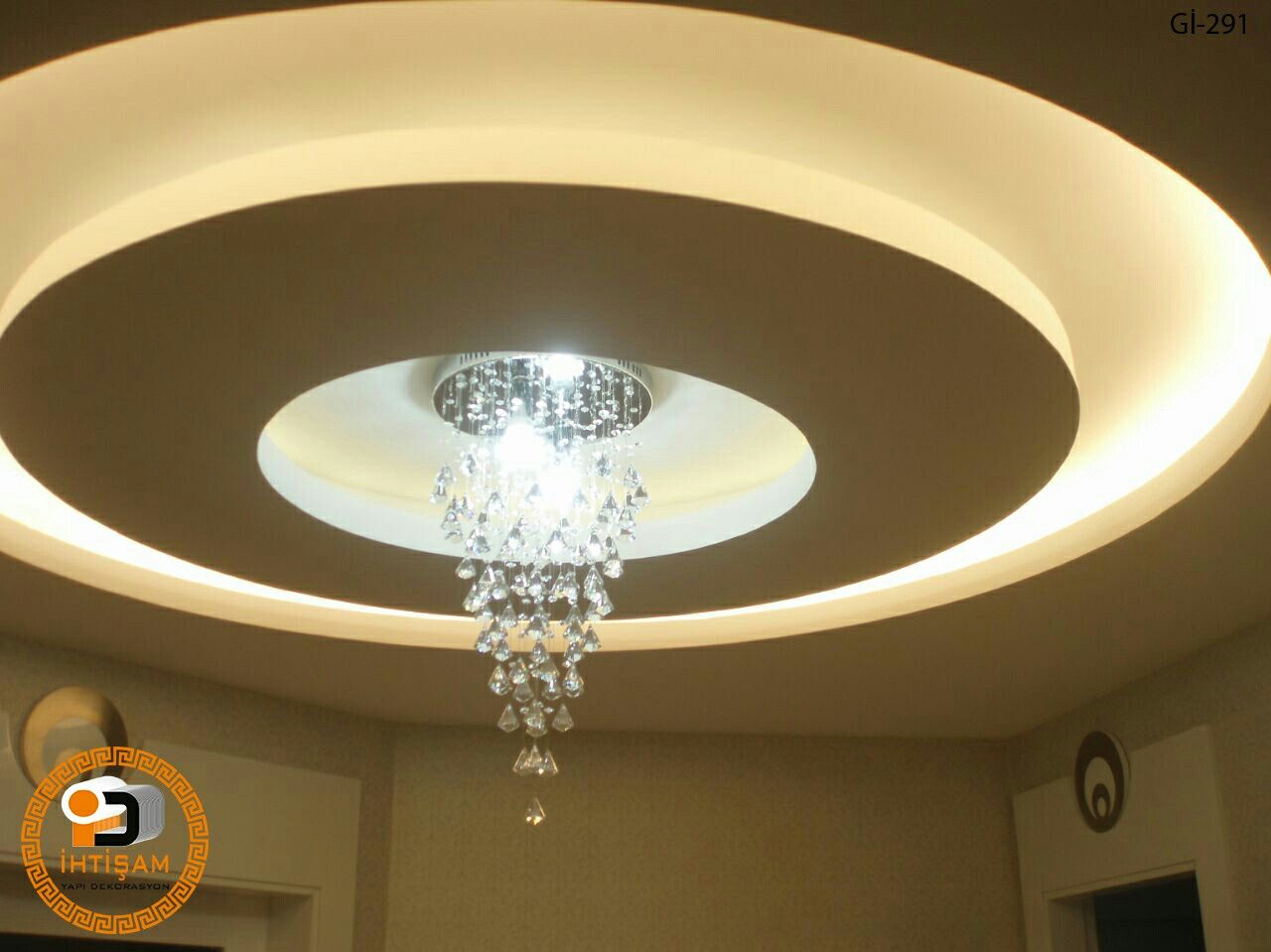 Round False Ceiling House Ceiling Design Kitchen Ceiling Lights Ceiling Light Design