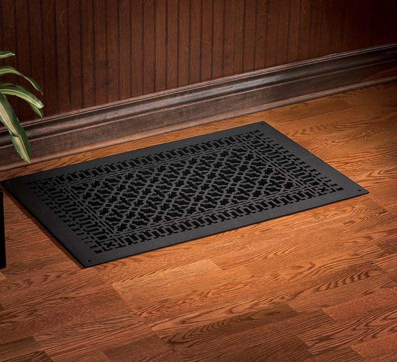 Scroll Cast Iron Vent Cover Old houses, House heating