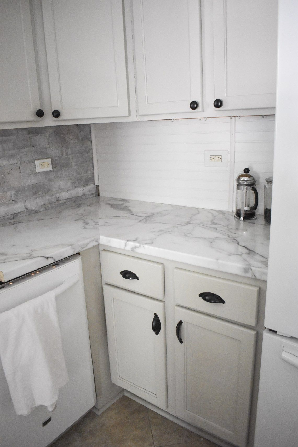 Lowe S Formica Calcutta Marble 90 Angled Edge That Wraps Back Up Underneath In 2020 Kitchen Countertops Laminate Laminate Countertops Laminate Kitchen