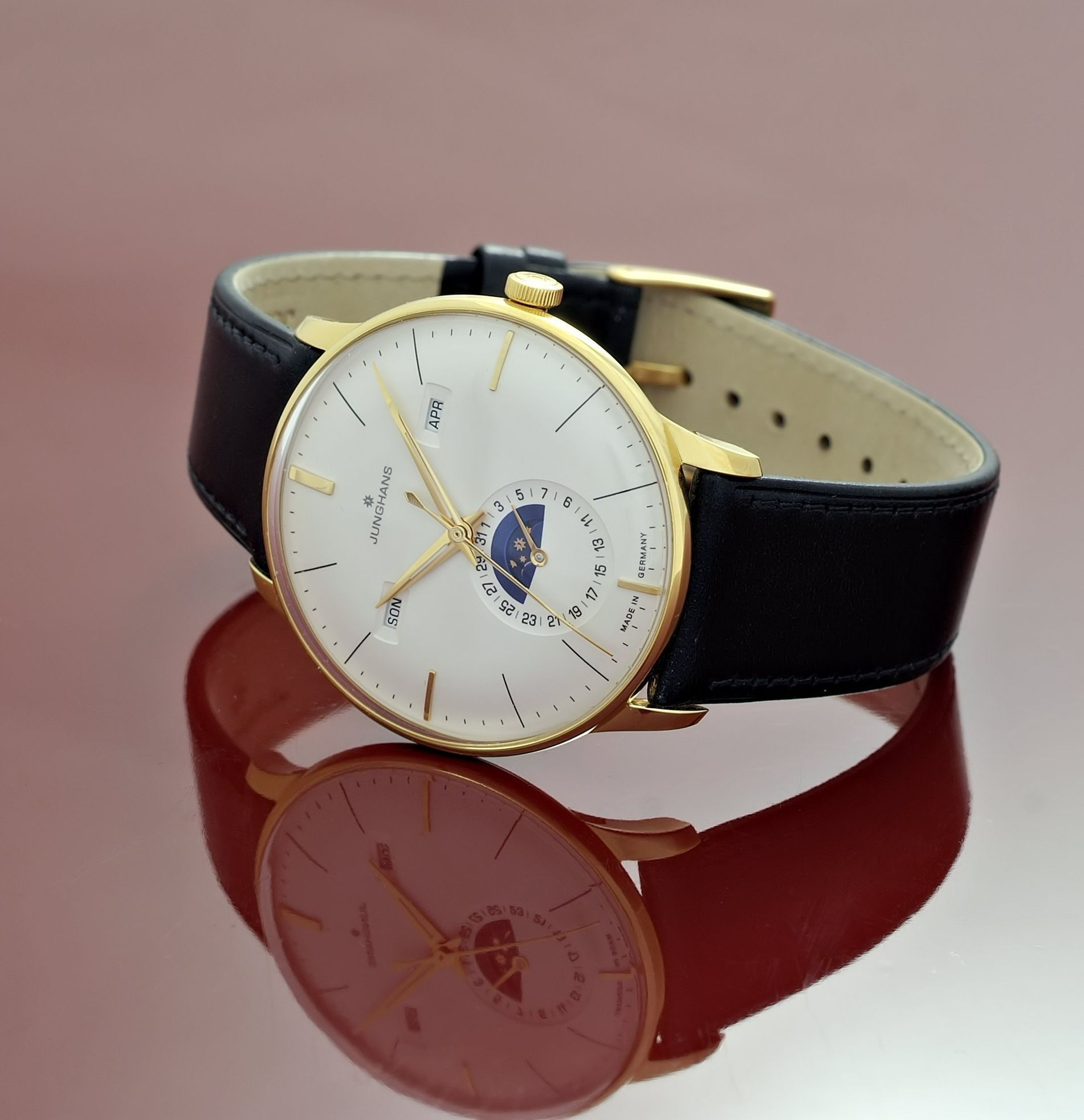 Junghans Uhren Junghans Meister Mondphase Watchful Watch Watches