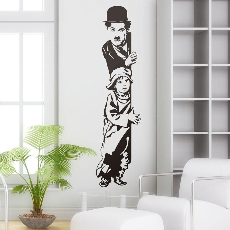Chaplin The Kid - VINILOS DECORATIVOS