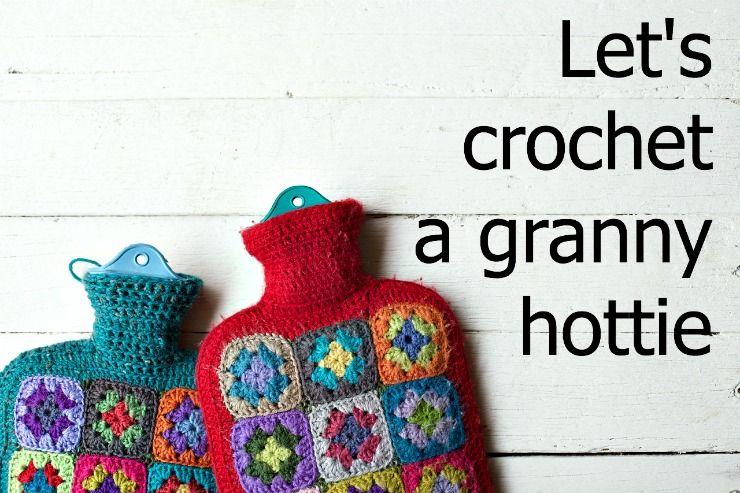 Lets Crochet A Granny Hottie Foxs Lane Crochet Water Bottle