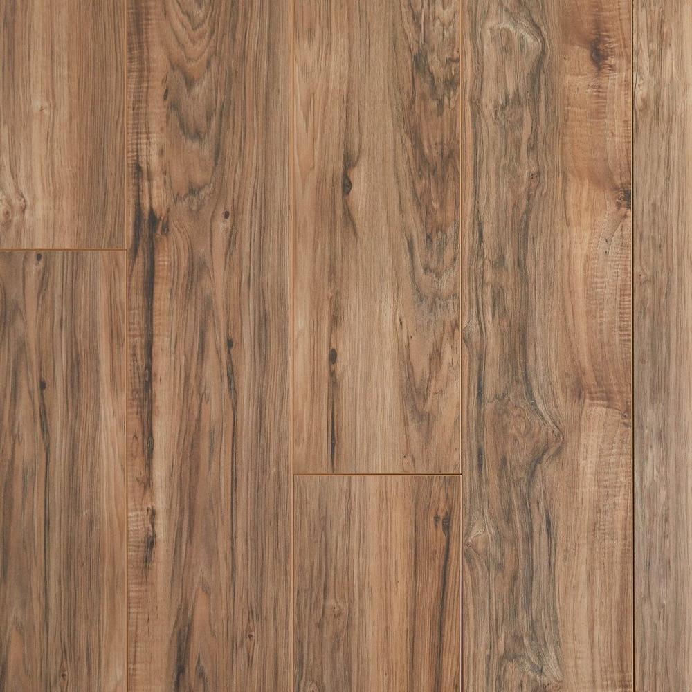 Alder Pecan Tan Water Resistant Laminate Flooring Hardwood Laminate Flooring