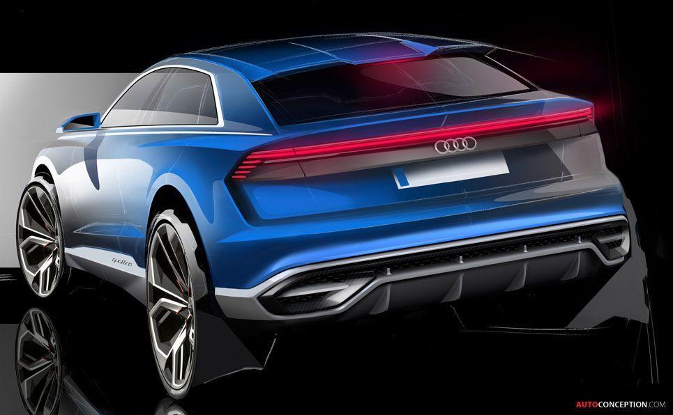 Audi reveals nearproduction q8 concept in detroit