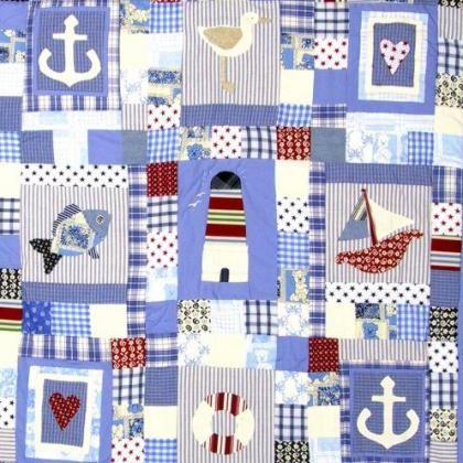 Seaside Blues | quilts etc. | Pinterest : seaside quilt - Adamdwight.com