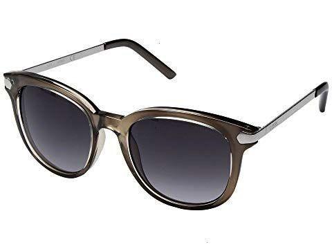 CRYSTAL GREYSMOKE GRADIENT LENSGUESS CRYSTAL GREYSMOKE GRADIENT LENS Quay Walk On Sunglasses in OliveSmoke Durand Wide Sunglasses in Rose Water with Pink Gradient lenses...