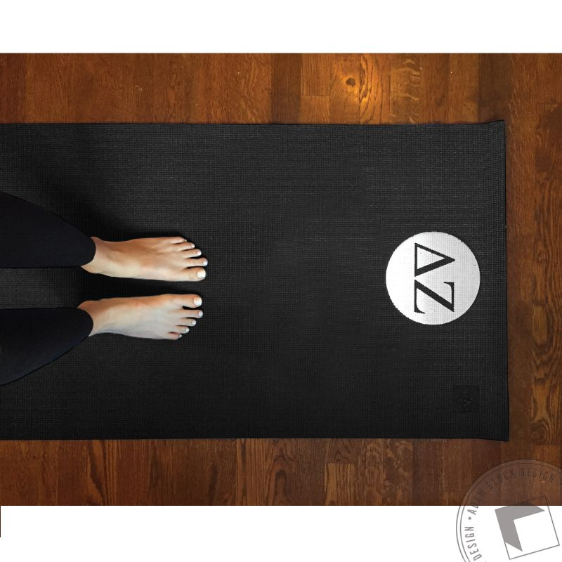 Get your downward facing dog on with a custom ABD yoga mat! Like or Repin if you'd be interested in one!  <3 Delta Zeta | Adam Block Design | Custom Greek Apparel & Sorority Clothes | www.adamblockdesign.com