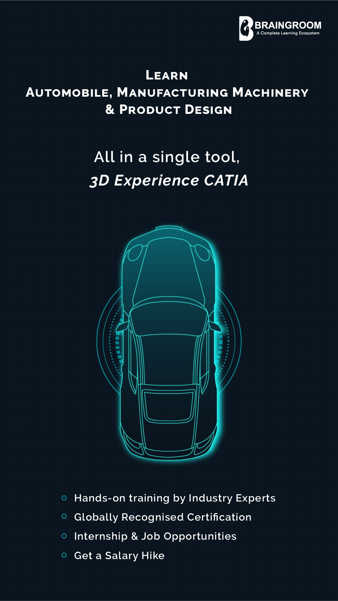 Catia is one of the highly demanded tools in the product