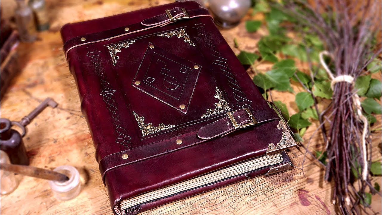 The Original Ripper The Heretic On Hold Leather Book Covers Book Binding Glue Book Binding Diy