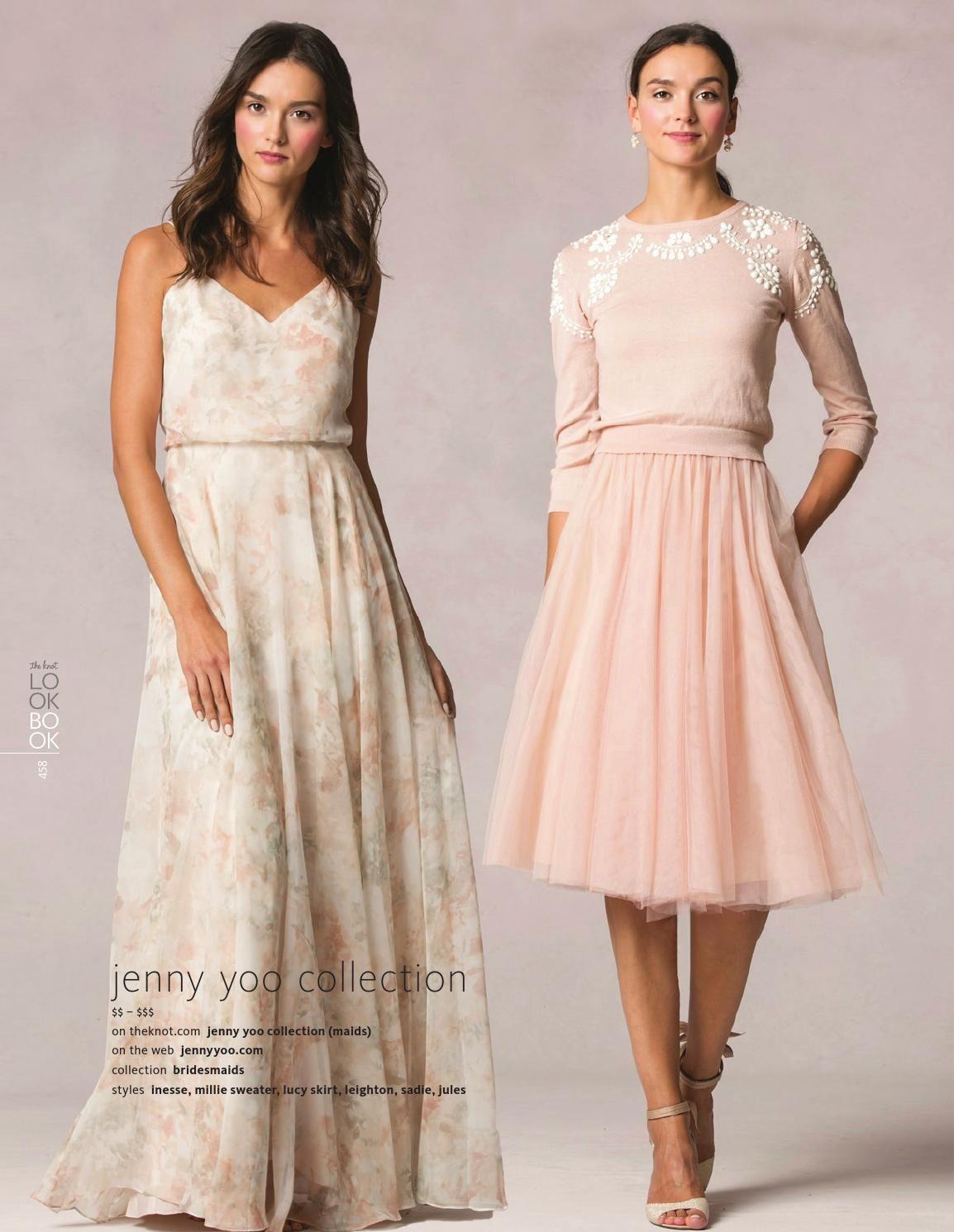 The Knot Spring 2016 Dresses, Bridesmaid dresses, Bridesmaid