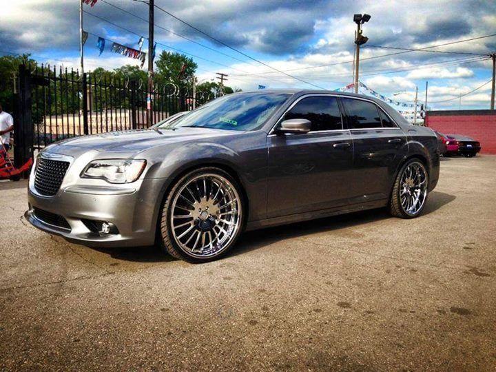 Chrysler 300c Rucci Finesta Chrome Rims Wheels Stance
