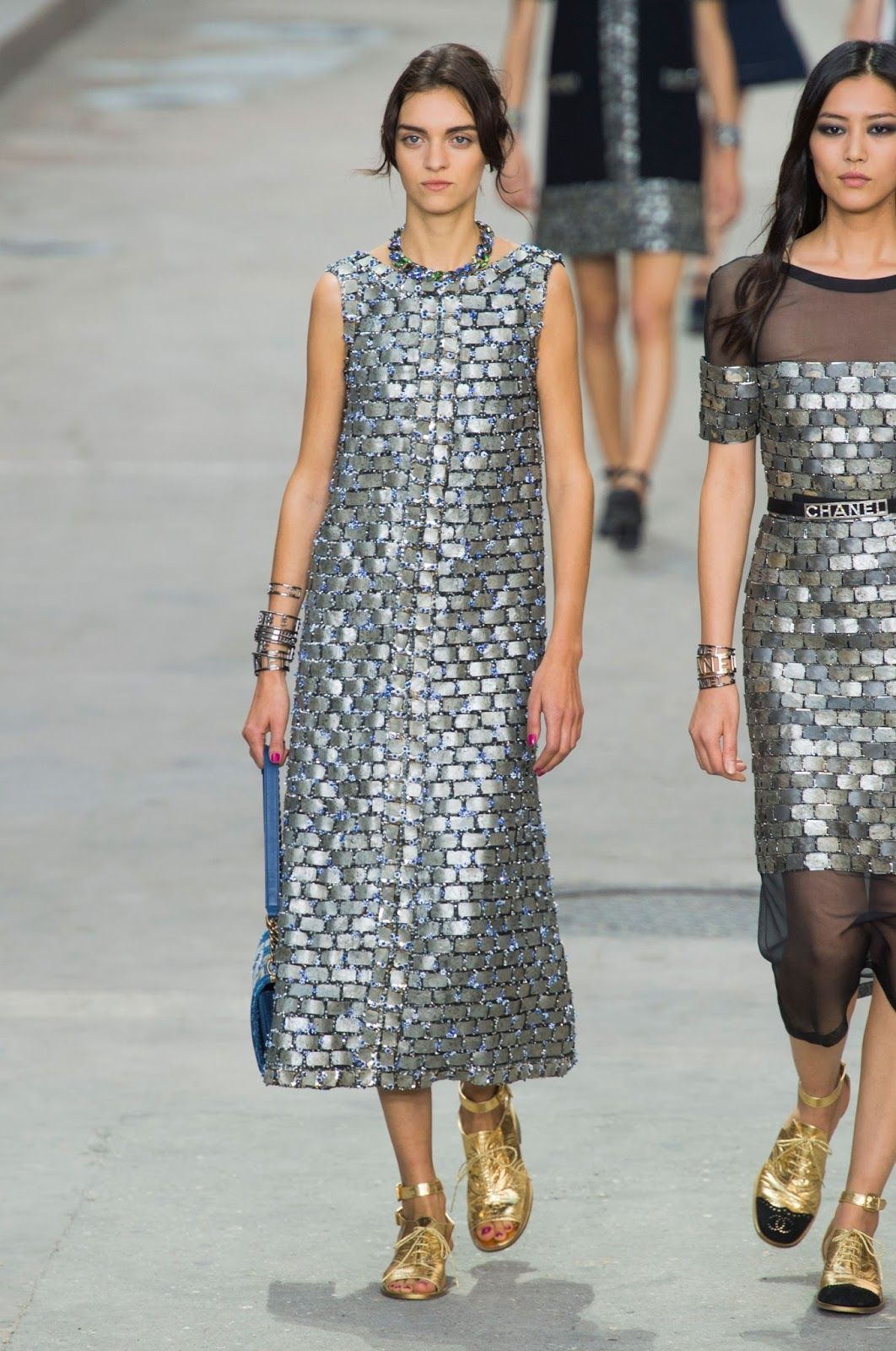 Chanel S/S 2015, PFW.