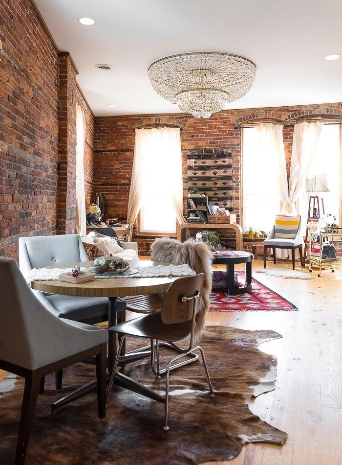 Un Alquiler rústico antiguo que se conserva en el Barrio de Detroit   Design * Sponge