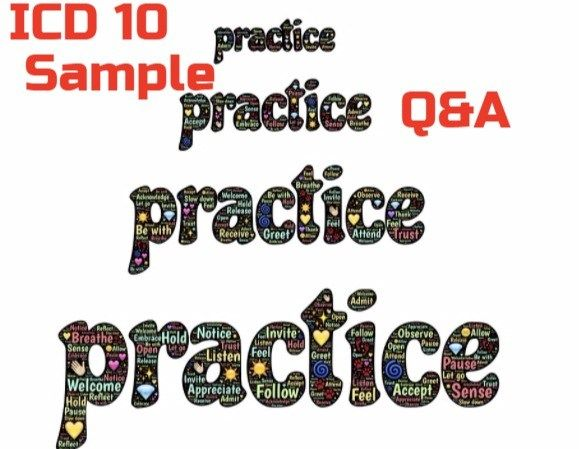 Practice ICD 10 codes for Medical coding Certification Exams ...