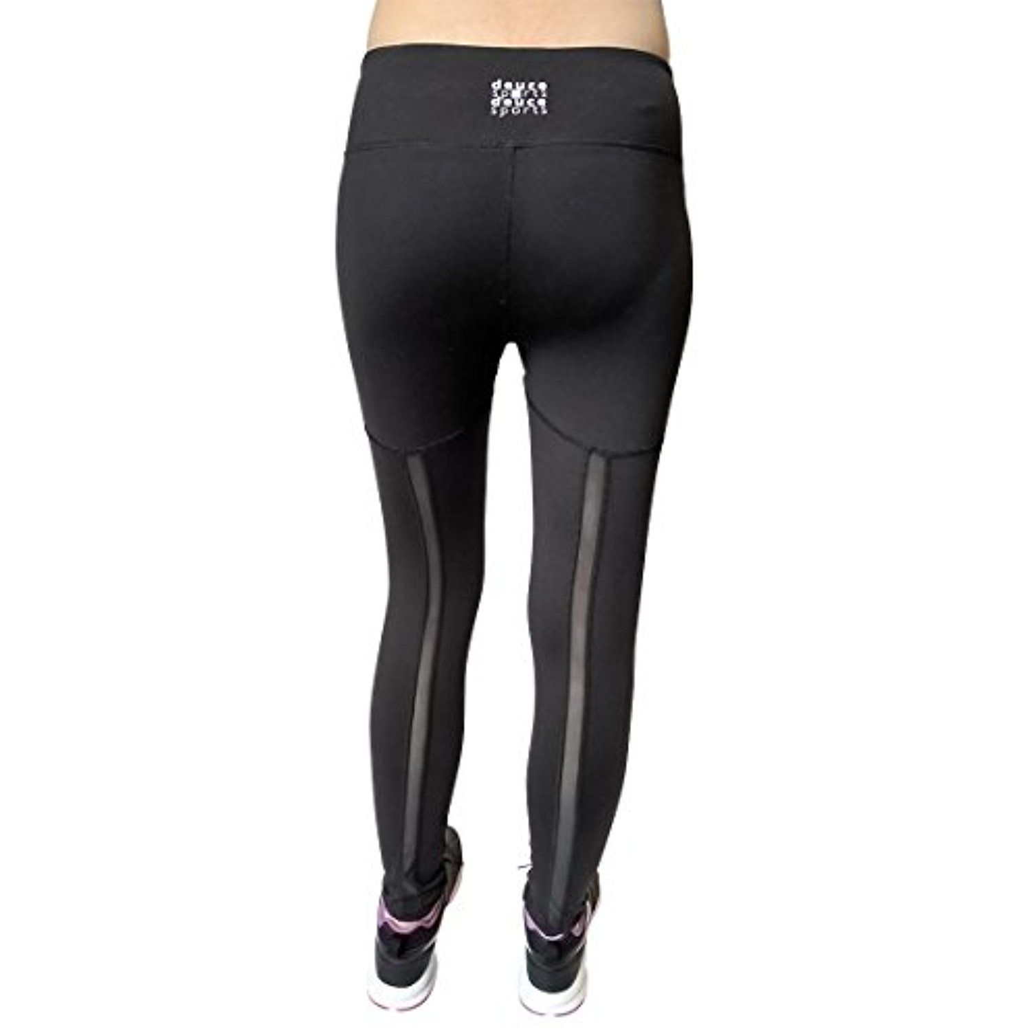 e3e6b7d2f1bb24 DEUCE SPORTS JAZZ Womens Black Workout Pants | Slimming Yoga Legging with  High Waist | Skin Tight Fit Perfect for Yoga Athletics Running Tennis --  Check out ...