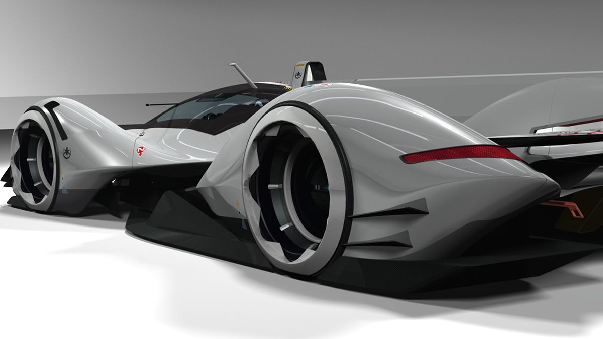 PORSCHE REVOLT P1 ELECTRIC CONCEPT on Behance Porsche