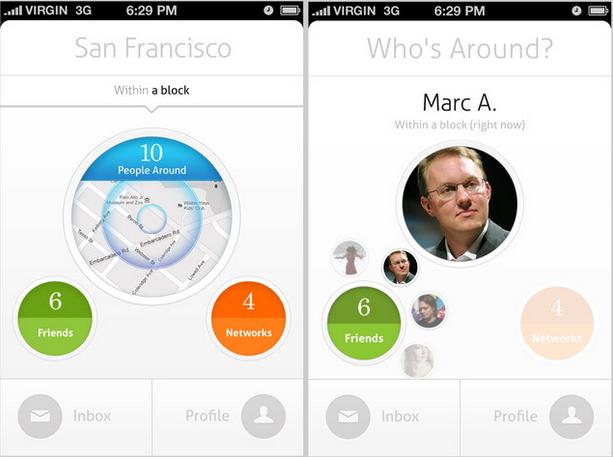 circle app Circle app, App design inspiration, App