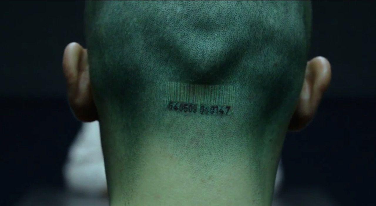 Agent 47 Arm Tattoo