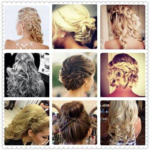 Pageant hair ideas...now don't get crazy some a fun ...