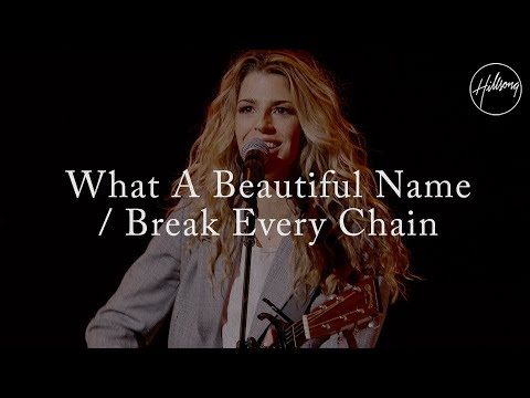 What A Beautiful Name W Break Every Chain Hillsong Worship Live Colour Conference 2018 Youtube What A Beautiful Name Worship Music Worship Lyrics