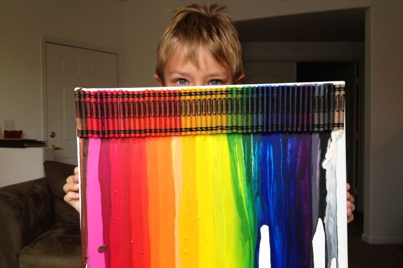 Love this! Perfect summer craft to do with the kids on a hot day like this.