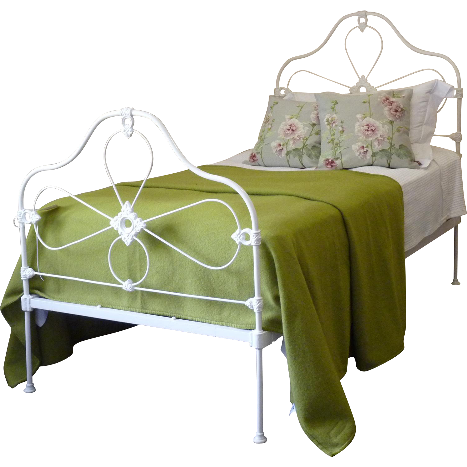 MidVictorian Single Cast Iron Bed Cast iron beds