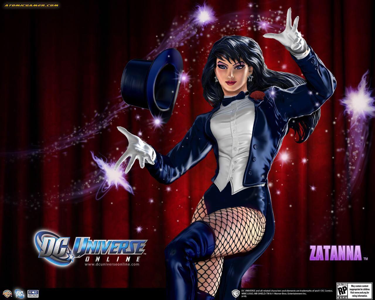 Zatanna Dc Universe Online Dc Comics Wallpaper Dc Heroes Dc Universe Online