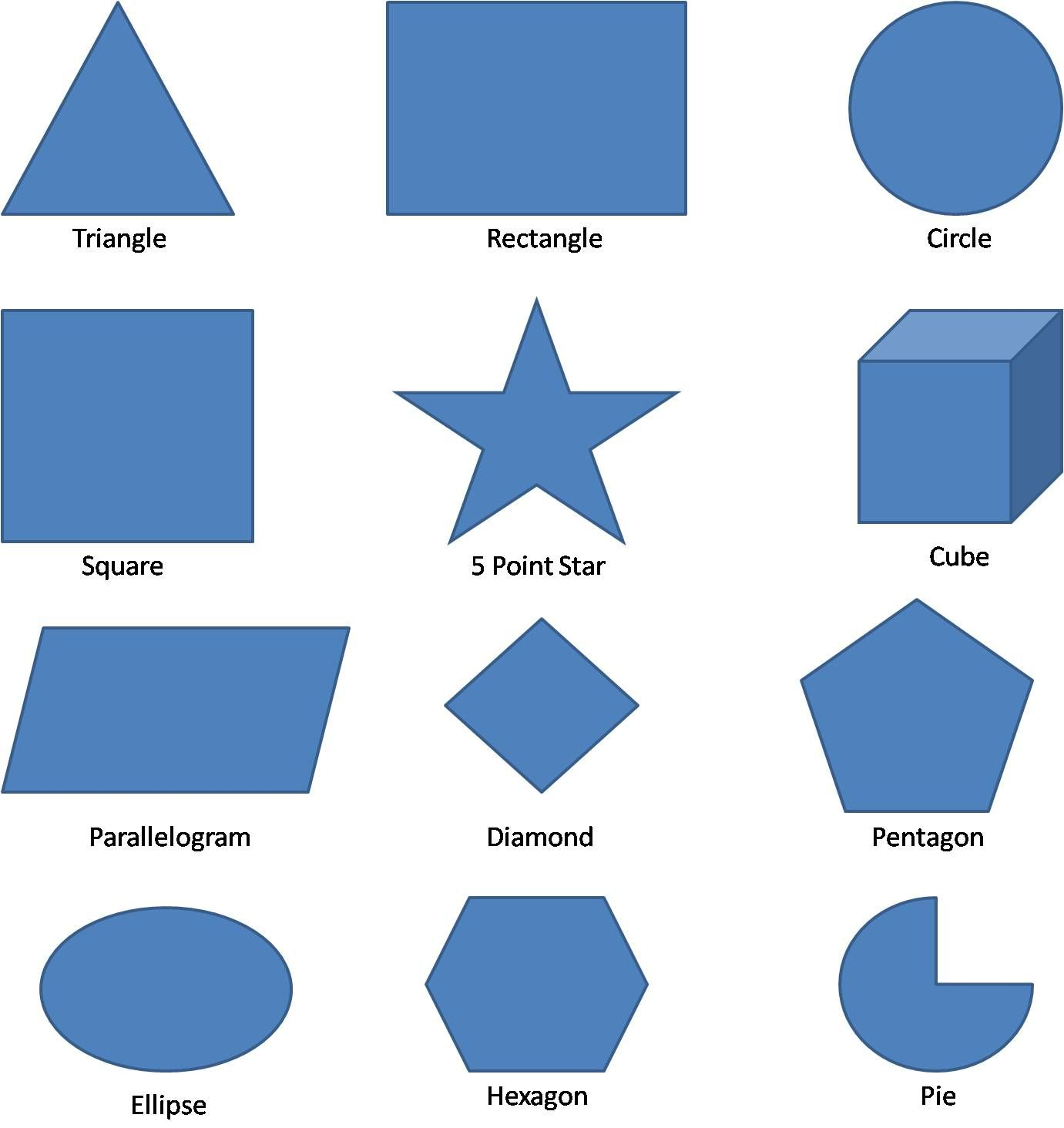 worksheet Shapes Names geometric shapes worksheets math pinterest shape 3d vocabulary part of body english names
