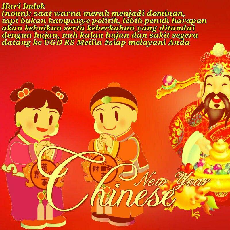 Imlek tahun baru harapan kebaikan sejahtera rsmeilia