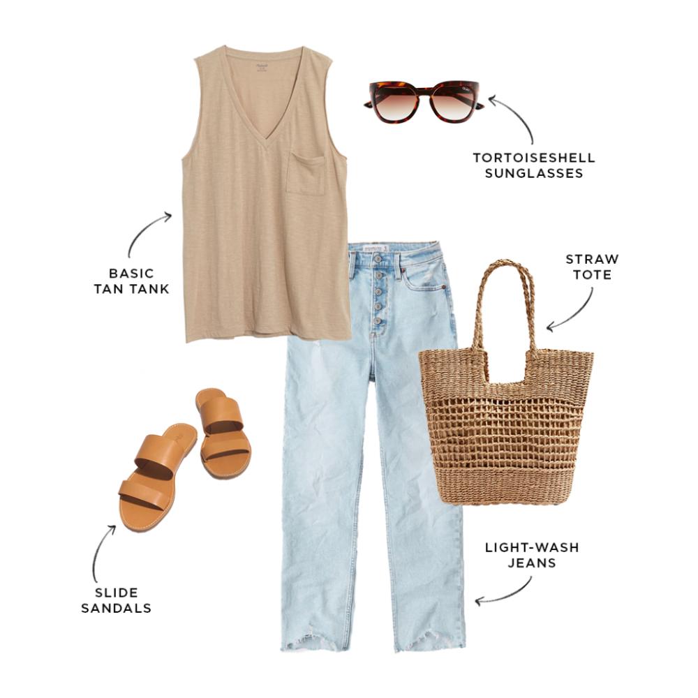 Budget-Friendly Summer 2020 Capsule Wardrobe | The Everymom