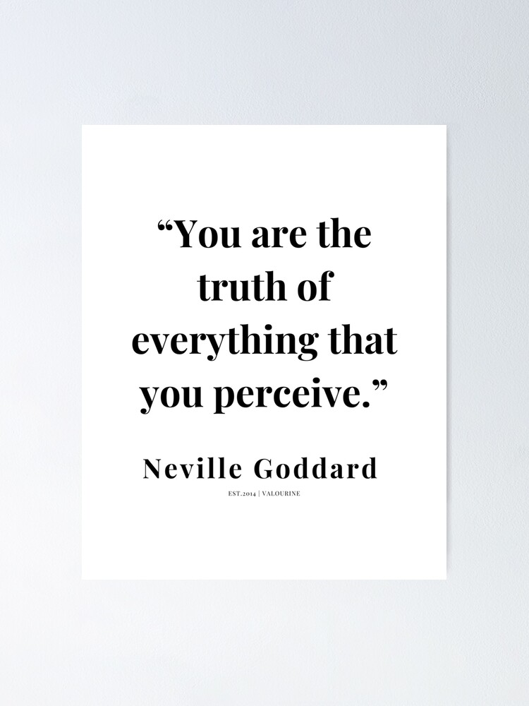 60 |   Neville Goddard Quotes | 210308 | Motivational Quote Poster by QuotesGalore