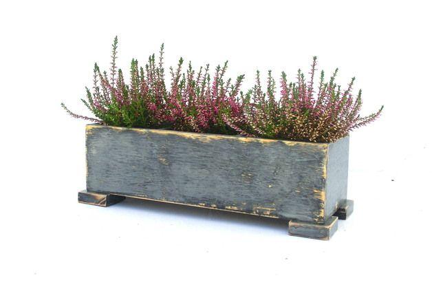 Skrzynka Na Ziola Donica Na Kwiaty Flower Pots Herb Planters Wooden Garden Planters