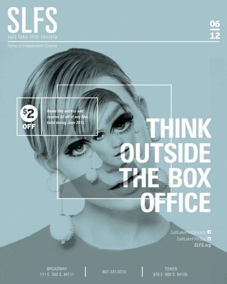 outside the box office. SLFS Campaign : Think Outside The Box Office O