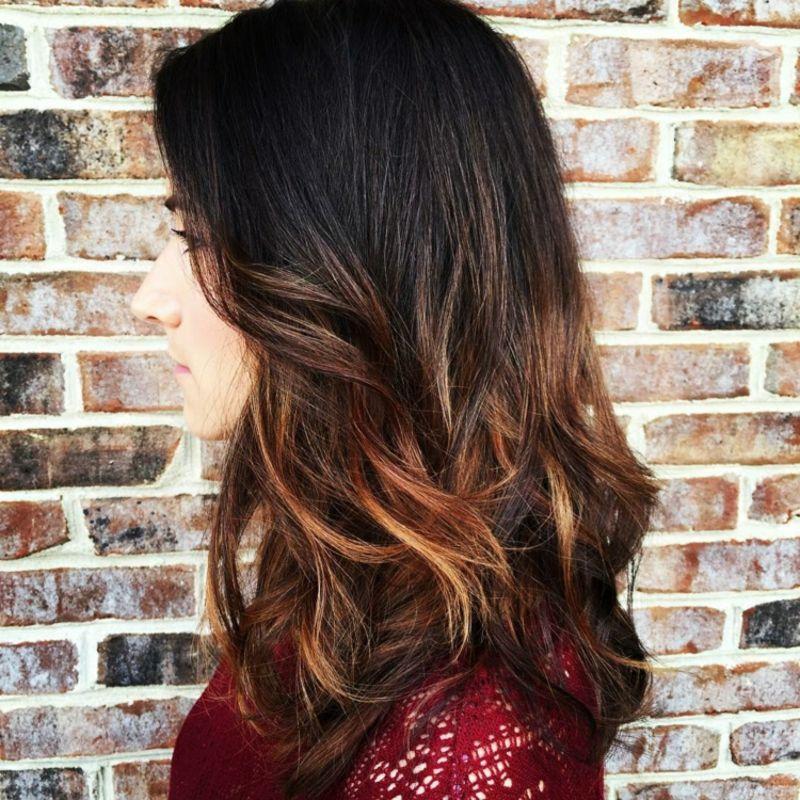 Färben heller schwarze haare Dein Haar