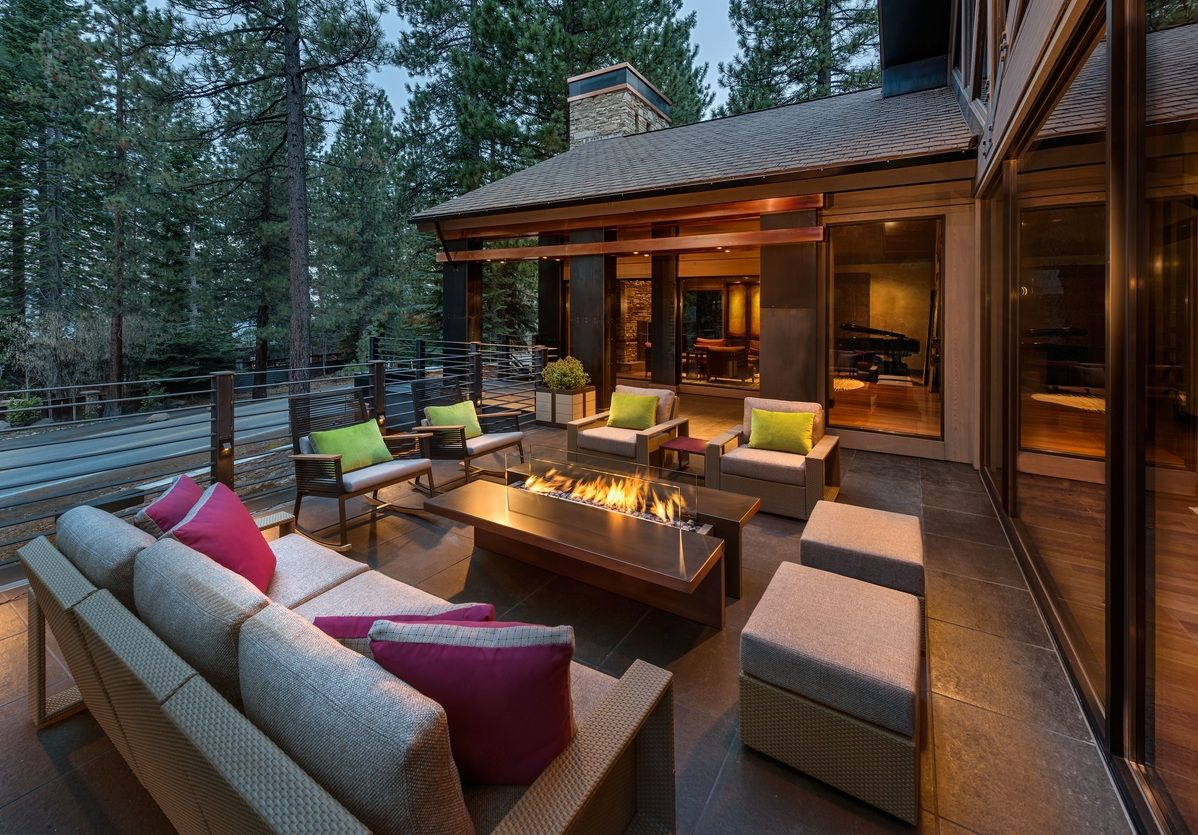 Now That We Are Out Of Hibernation We Would Love To See Pics Of How You Are Preparing Your Ya Outdoor Living Design Modern Outdoor Living Outdoor Living Rooms