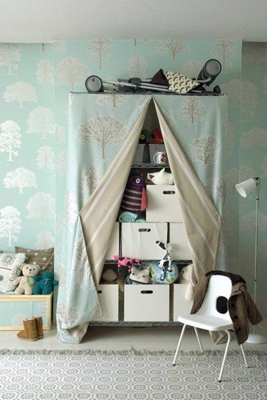 Wonderful How To Cleverly Conceal Clutter: DIY Fabric Curtains, Skirts U0026 Covers