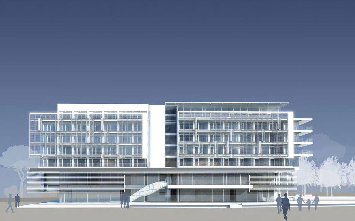 Jlv a five star hotel spa by richard meier jesolo for Casa moderna jesolo